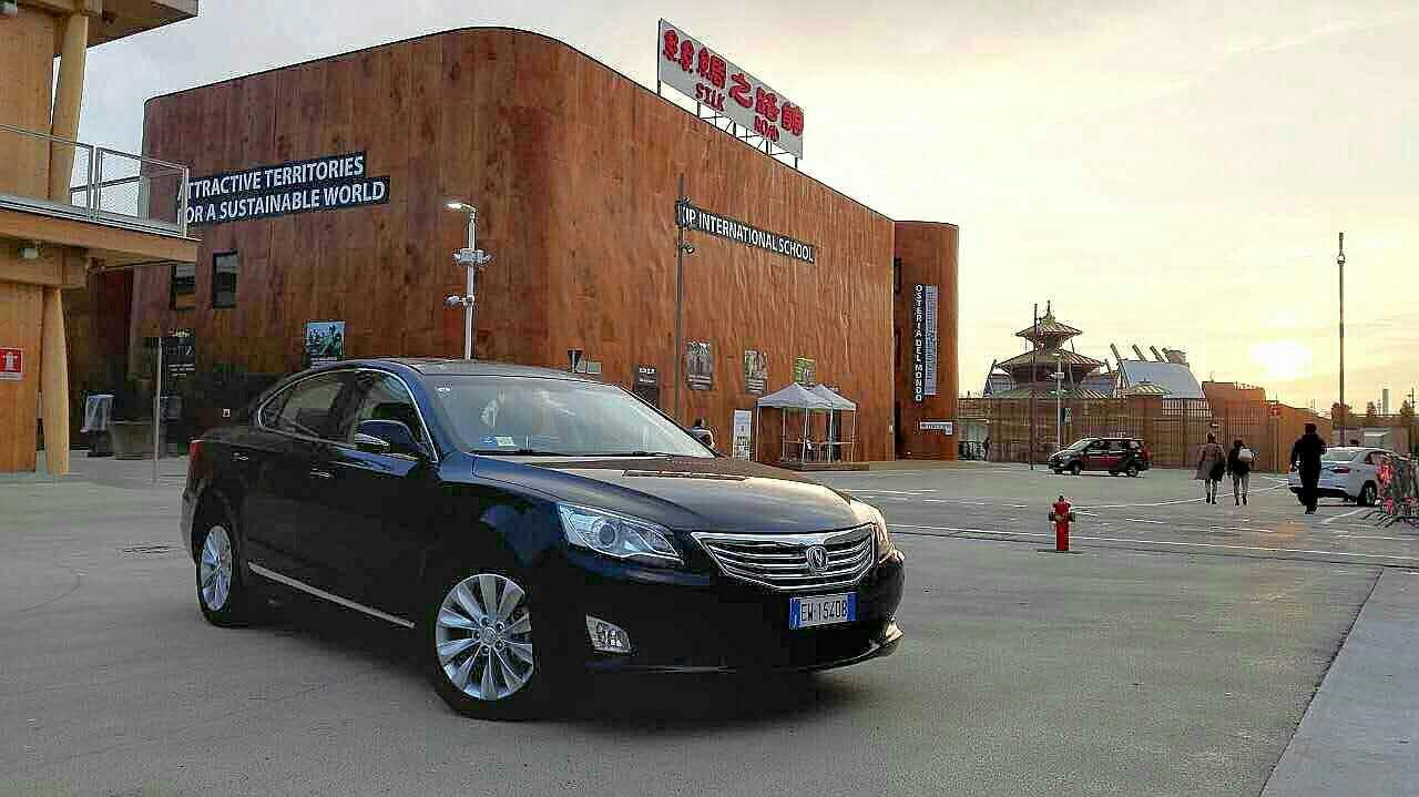 中国品牌全球路演,长安汽车绽放米兰世博会