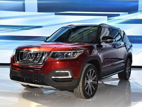 15万起国产7座SUV 颜值最美长安CS95秒汉兰达(参配、图片、询价高清图片